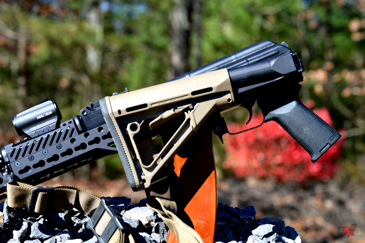 Manticore Arms F3 Stock Adapter- folding M4 stock adapter